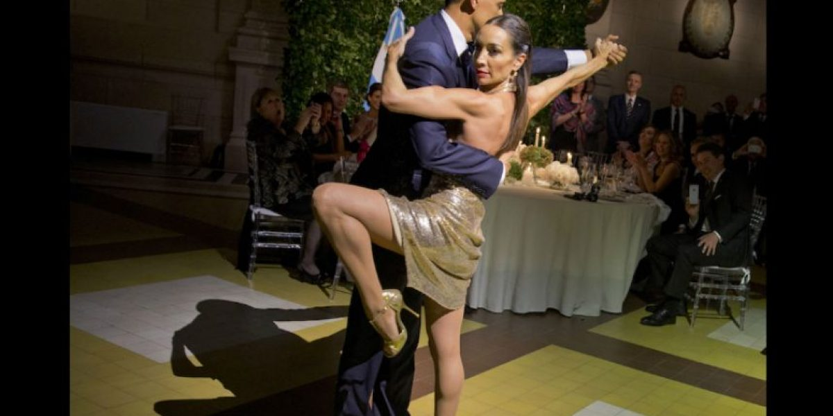 Video: Conozca a la bella mujer que bailó tango con Barack Obama