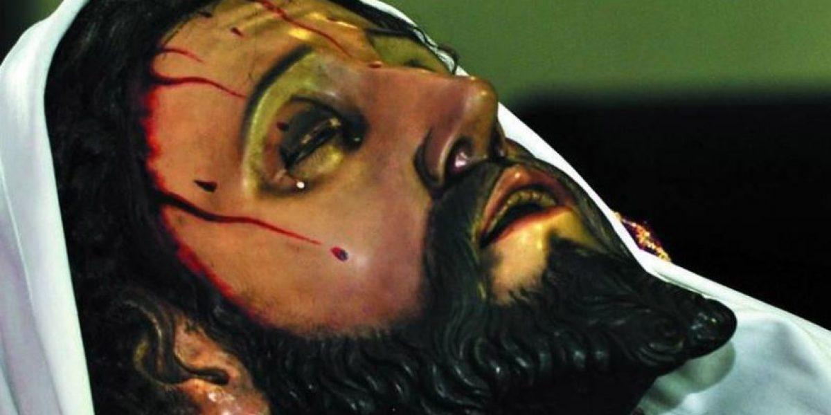 Procesión del Señor Sepultado de San Sebastián, Viernes Santo 25 de marzo de 2016