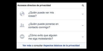 Facebook ha tratado de simplificar y aumentar sus opciones de privacidad. Foto:Facebook