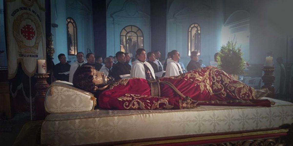 Transmisión en vivo procesión Señor Sepultado de La Recolección, Viernes Santo 25 de marzo 2016