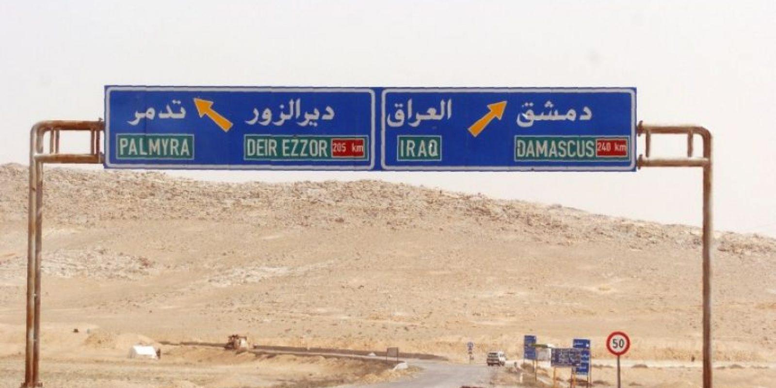 El gobierno sirio ha pasado este último mes luchando por recuperar la ciudad. Foto:AFP