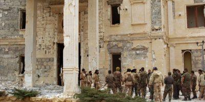 Ahora las tropas han comenzado a recuperar la zona. Foto:AFP