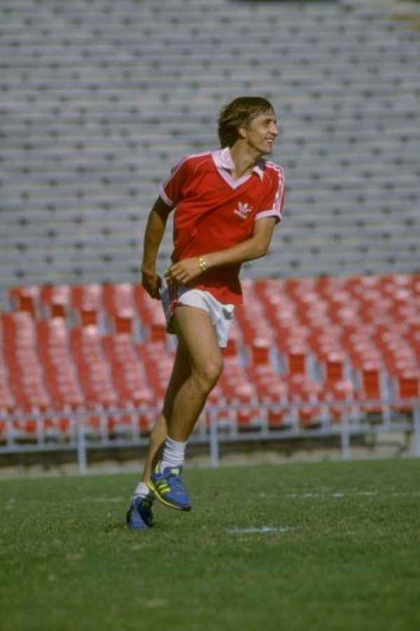 """8. El Ajax retiró el número """"14"""" en su honor Foto:Getty Images"""