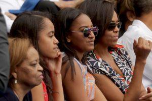 Recientemente, en la visita de Obama a Cuba y Argentina, Robinson estuvo presente. Foto:Getty Images