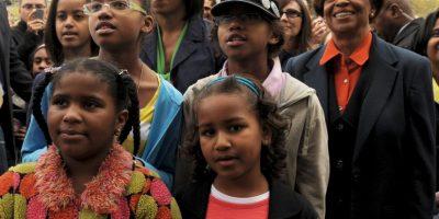 Mariana Robinson vive en Washington desde que su familia se mudó a la Casa Blanca. Foto:Getty Images