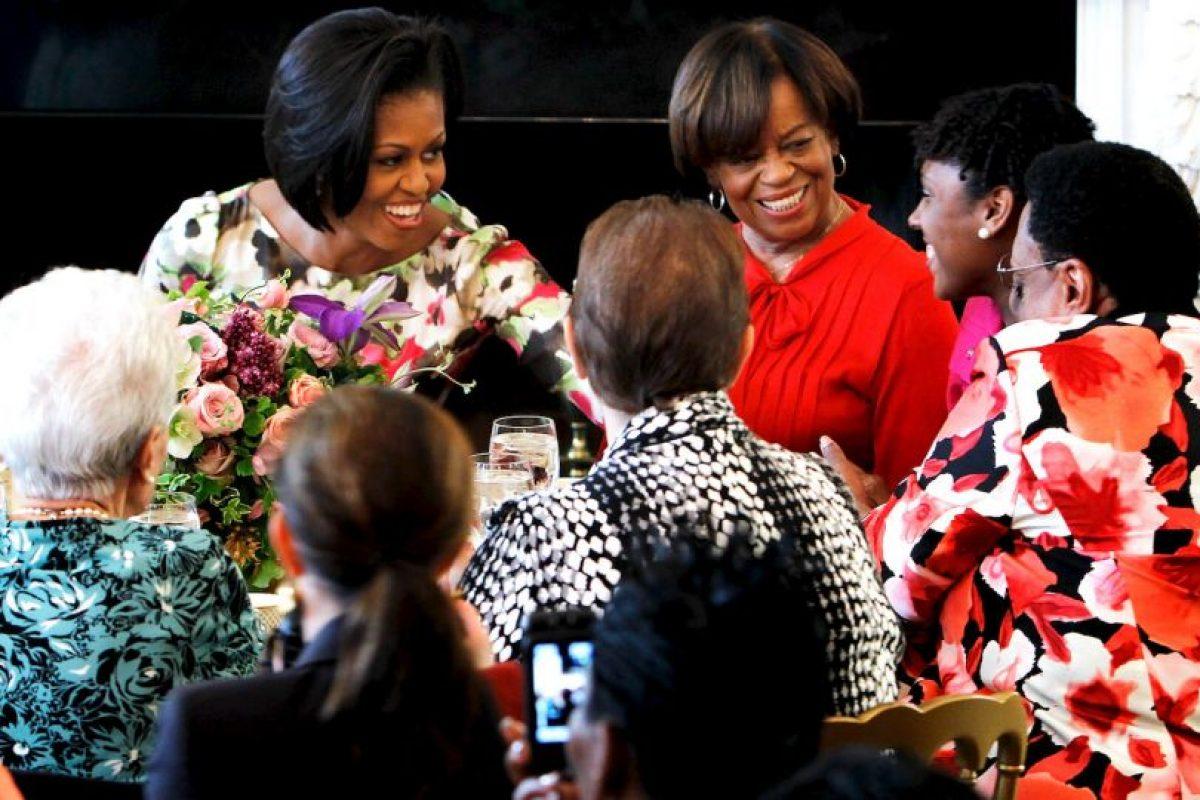 Ella ha sido una de las personas más cercanas a las hijas de Obama. Foto:Getty Images