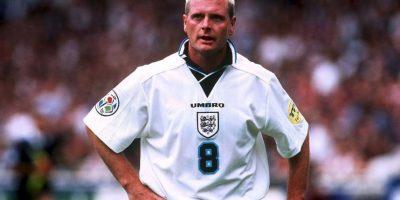 Paul Gascoigne fue figura de Inglaterra en los 90 Foto:Getty Images