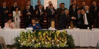 De las últimas presentaciones públicas de Otto Pérez Molina y Roxana Baldetti juntos