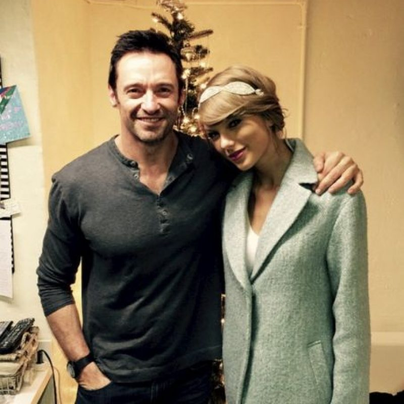 Taylor Swift Foto:vía instagram.com/hughjackman