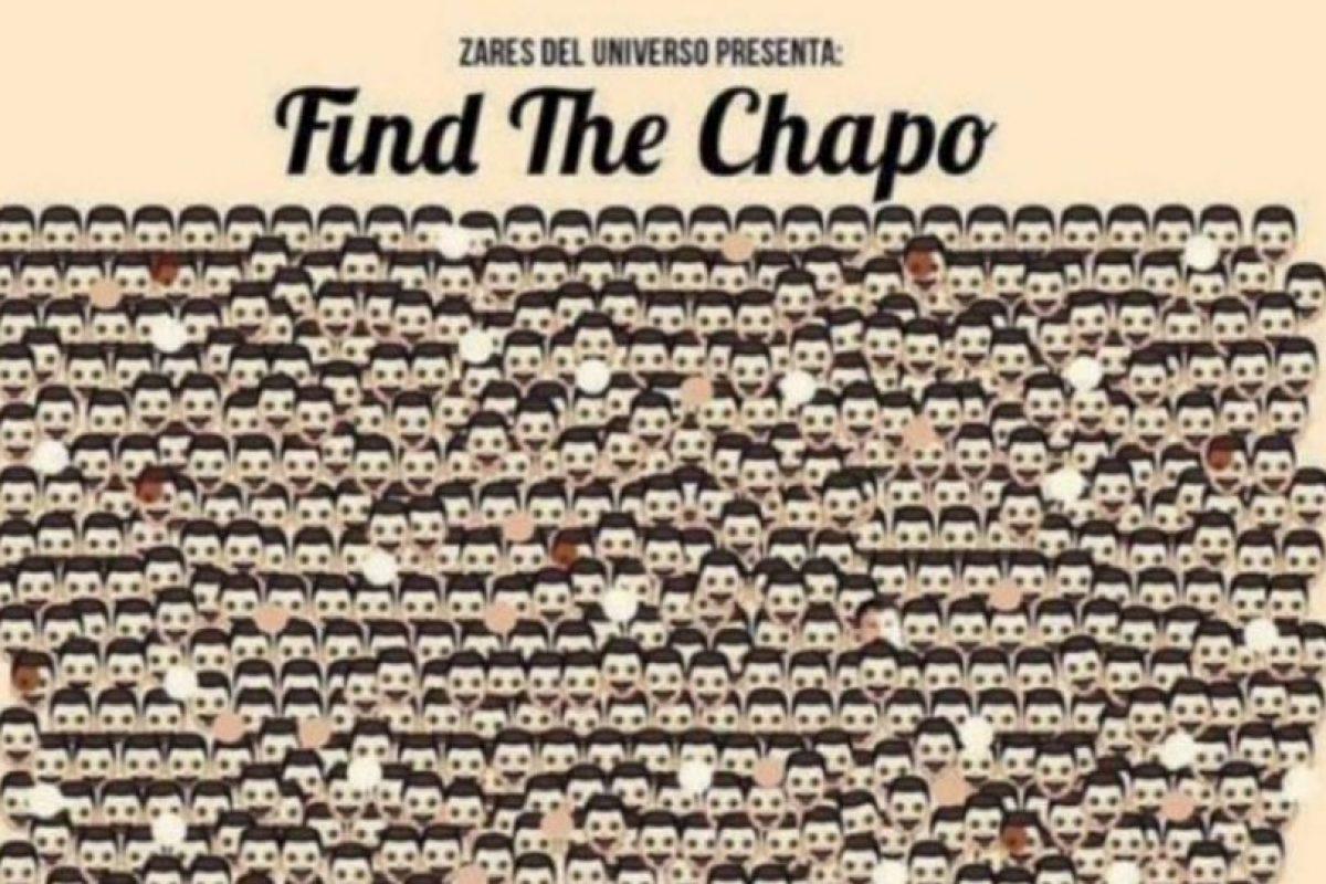 """""""Encuentra al Chapo"""" Foto:Tumblr"""
