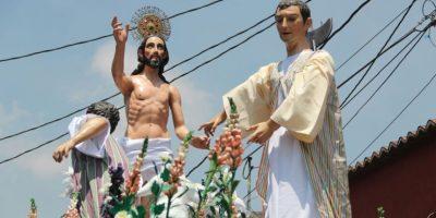 Las mejores imágenes de Jesús Resucitado de El Calvario, previo a encontrarse a la Virgen