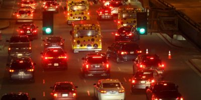 Los Ángeles, Estados Unidos. Los conductores también requieren de 41 por ciento de su tiempo Foto:Getty Images