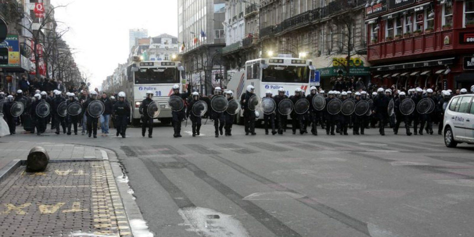 Bélgica se mantiene en estado de alerta máxima después se estos hechos. Foto:Getty Images