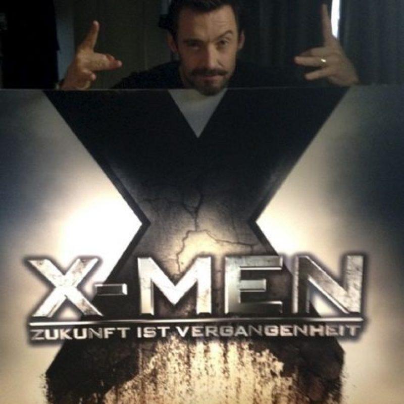 """Saltó a la fama por el papel de """"Wolverine"""" Foto:vía instagram.com/hughjackman"""