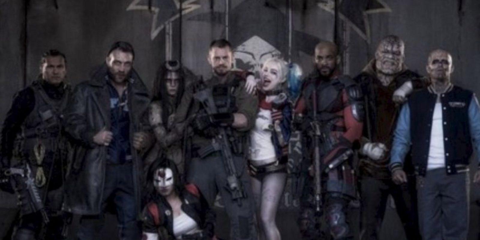 """El estreno de """"Suicide Squad"""" está programado para el 5 de agosto de 2016, en Estados Unidos. Foto:vía twitter.com"""