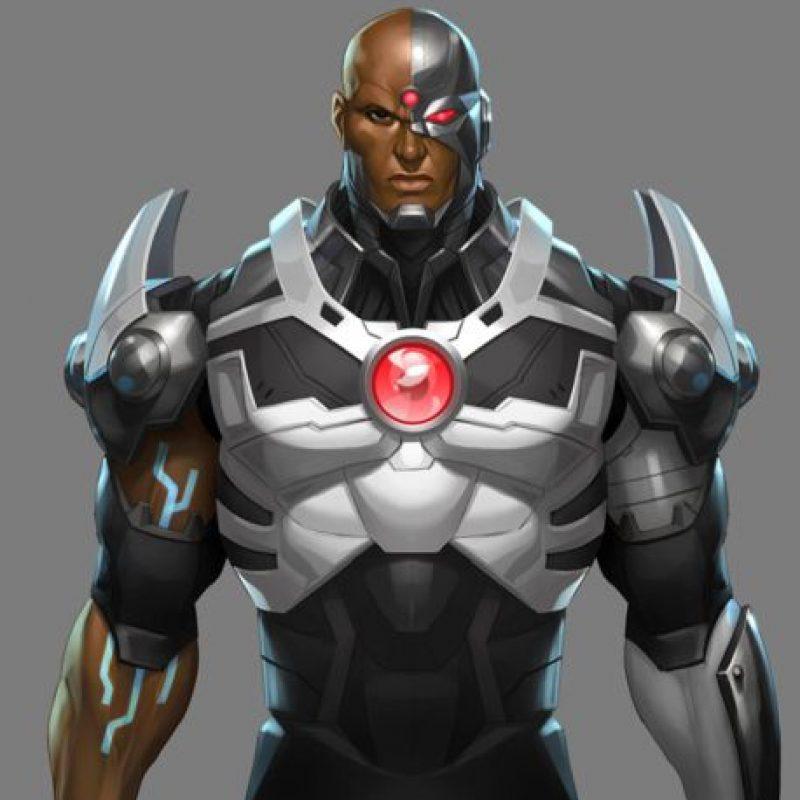 Contará la historia de este superhéroe mitad hombre mitad máquina. Foto:DC Comics