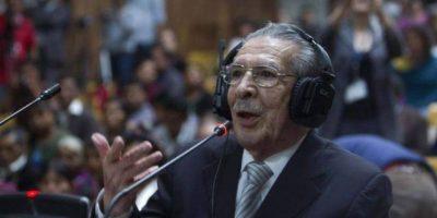 Se reanuda juicio especial por genocidio en contra de Efraín Ríos Montt