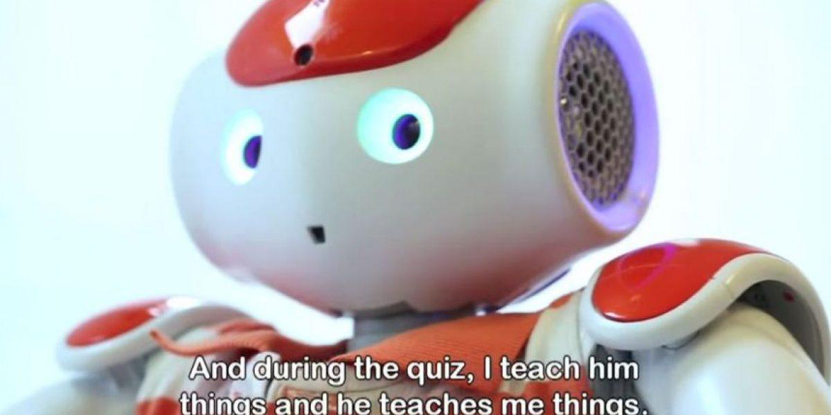 Aliz-E, el pequeño robot que ayuda a niños enfermos