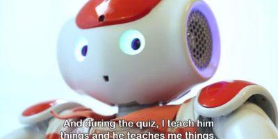 Aliz-e es un pequeño robot que ayuda a niños a aprender sobre su diabetes. Foto:Plymouth University
