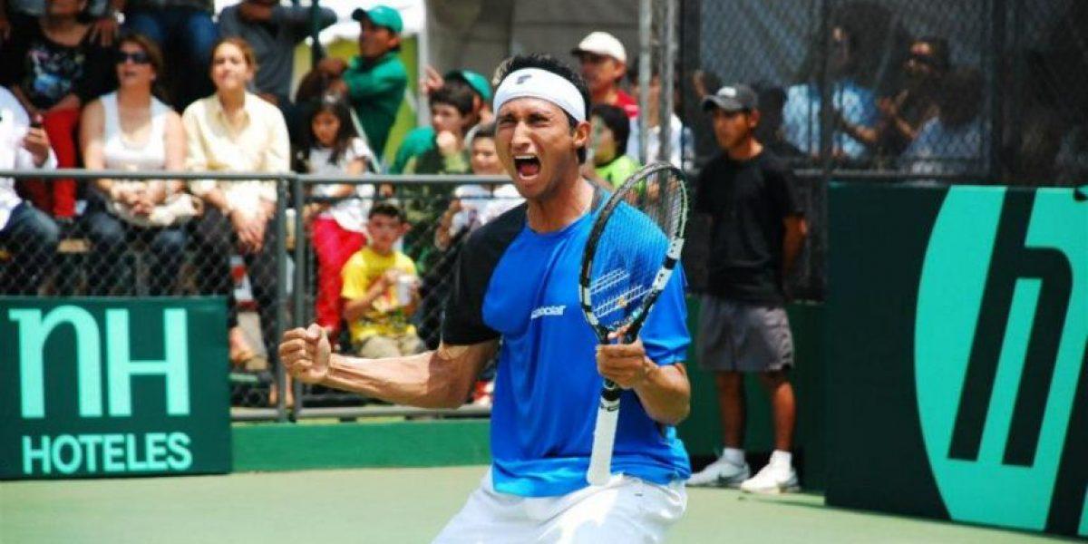 Christopher Díaz finaliza subcampeón en torneo Futuro 1 de Heraklion de Grecia