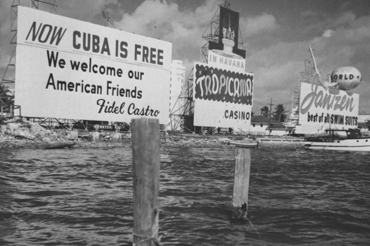 """""""Nacimos en un país libre que nos legaron nuestros padres, y primero se hundirá la Isla en el mar antes que consintamos en ser esclavos de nadie"""", dijo ejerciendo su propia defensa en el juicio por el asalto al cuartel Moncada en septiembre 1953 Foto:Getty Images"""