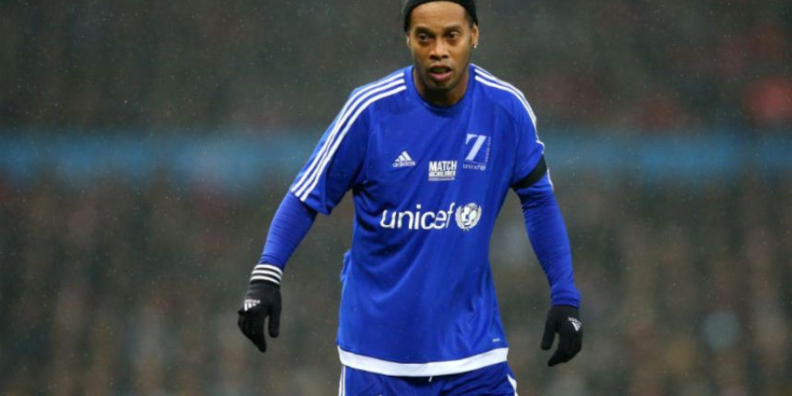 Ronaldinho (Brasil) Foto:Getty Images