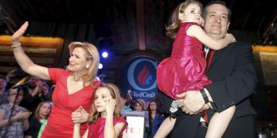 Tiene dos hijas con el senador: Caroline Camille y Catherine Christiane Foto:Getty Images