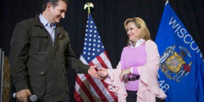 Heidi conoció a Ted Cruz mientras trabajaban en la campaña presidencial de George W. Bush, en el año 2000. Foto:Getty Images