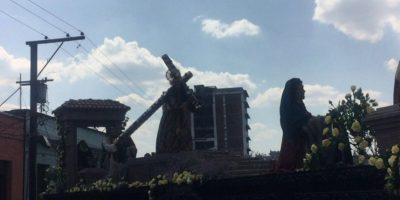 IDAEH evaluará daños que sufrió imagen de Jesús Nazareno de La Merced