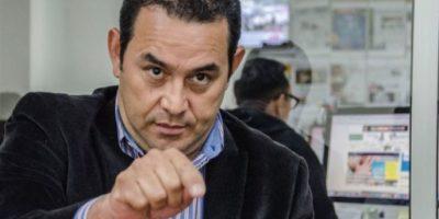 Jimmy Morales niega injerencia extranjera en su gobierno