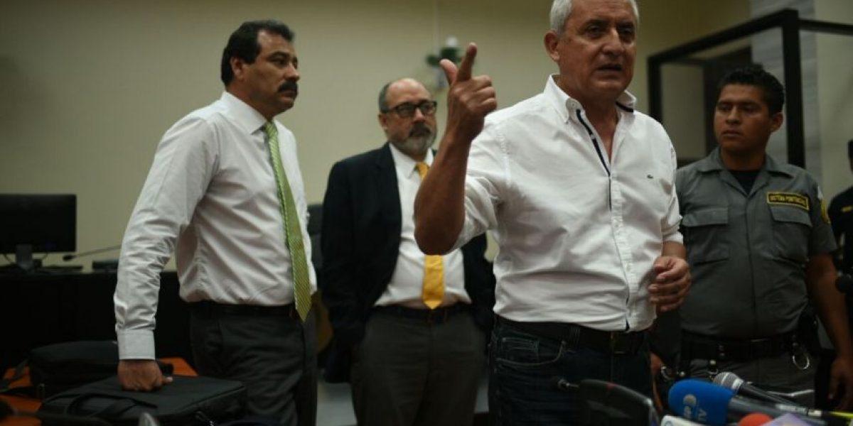 Las frases más destacadas de las declaraciones de Otto Pérez Molina
