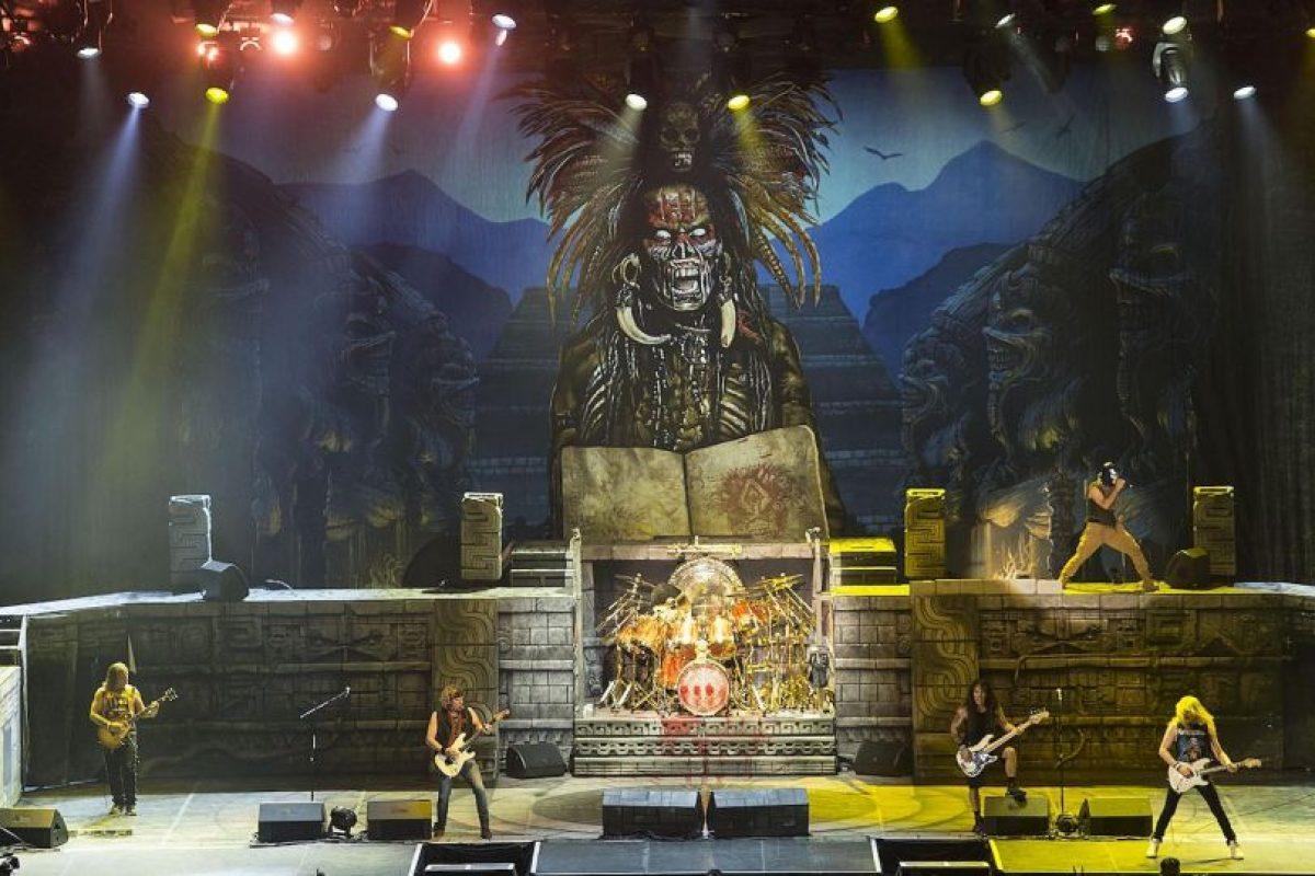 La gira de Iron Maiden por Centro y Sudamérica no ha estado exenta de problemas Foto:Grosby Group
