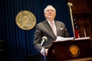 Vetan la propuesta de ley en Georgia Foto:AP
