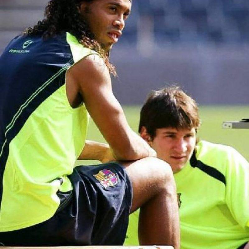Ronaldinho no piensa en el retiro Foto:Vía instagram.com/ronaldinhooficial