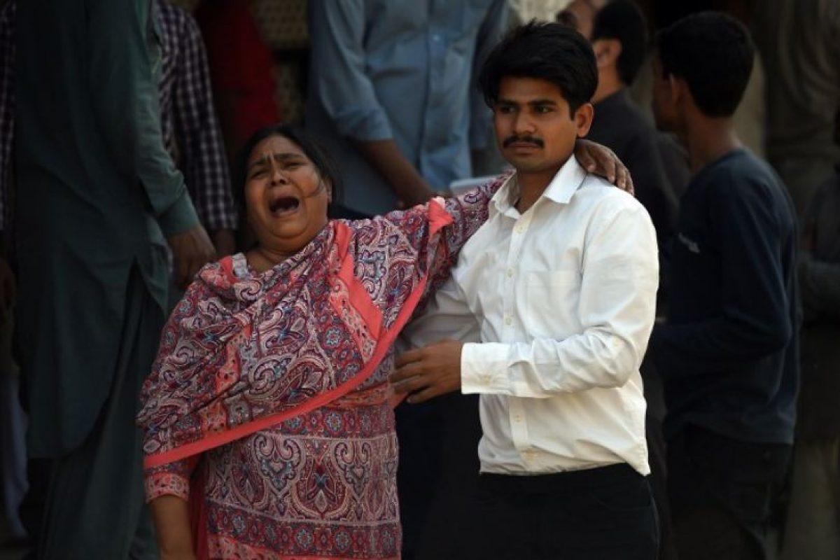 Este domingo 72 personas murieron y 359 resultaron heridas en un atentado lanzado en la tarde del domingo en Lahore, Paquistán. Foto:AFP
