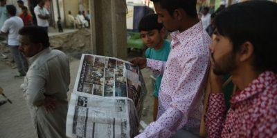 Se lo adjudicóla fracción del Talibán Jamat-ul-Ahrar. Foto:AFP