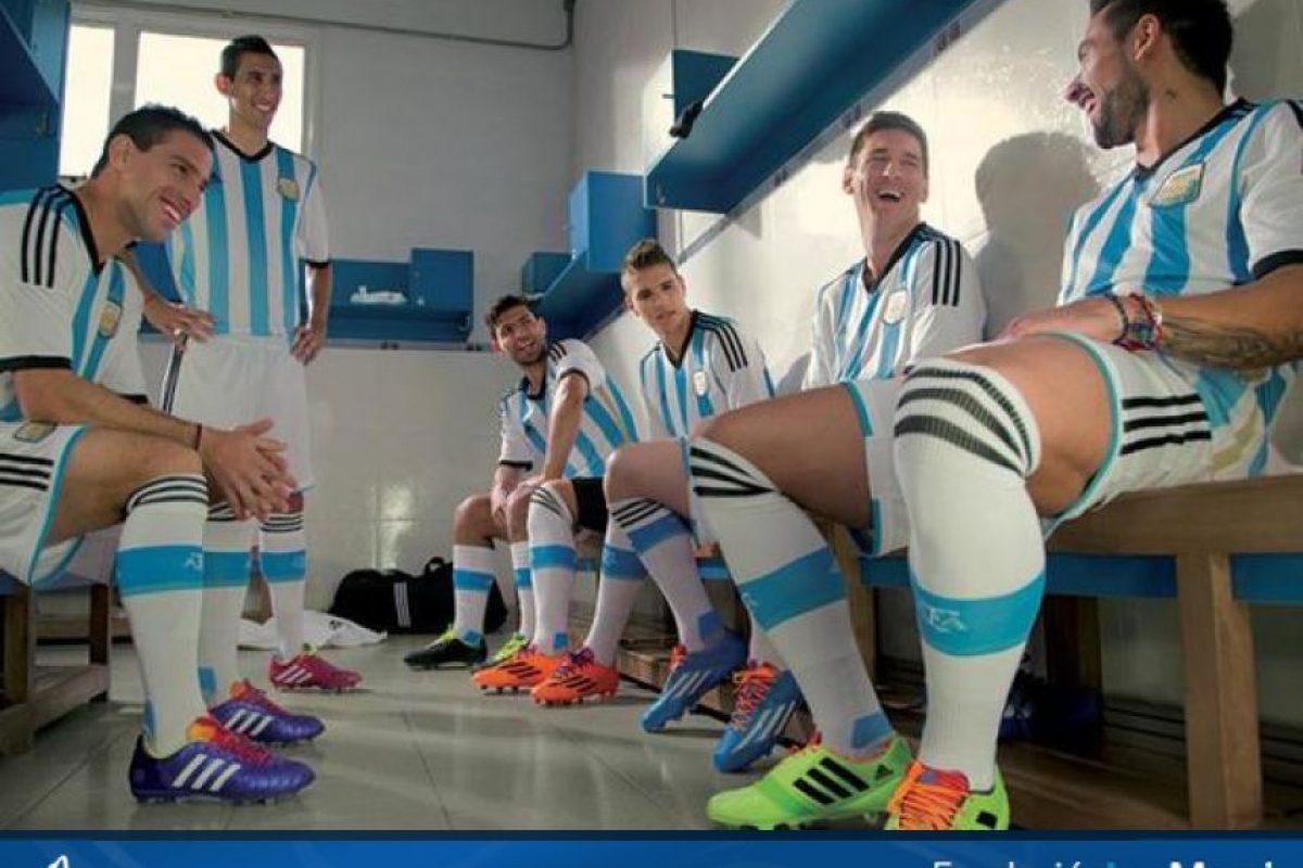 2. Durante el Mundial de Brasil 2014, Lionel Messi encabezó una serie de donaciones del equipo argentino para un hospital de Buenos Aires, dedicado a combatir el cáncer infantil. Foto:Vía facebook.com/FundacionLeoMessi