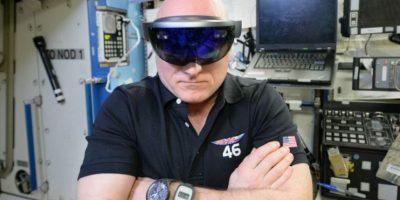 Los Hololens también podrían ayudar a astronautas. Foto:Microsoft