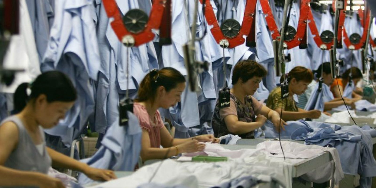 Es muy probable que los trabajadores de fábricas sean suplantados por máquinas. Foto:Getty Images