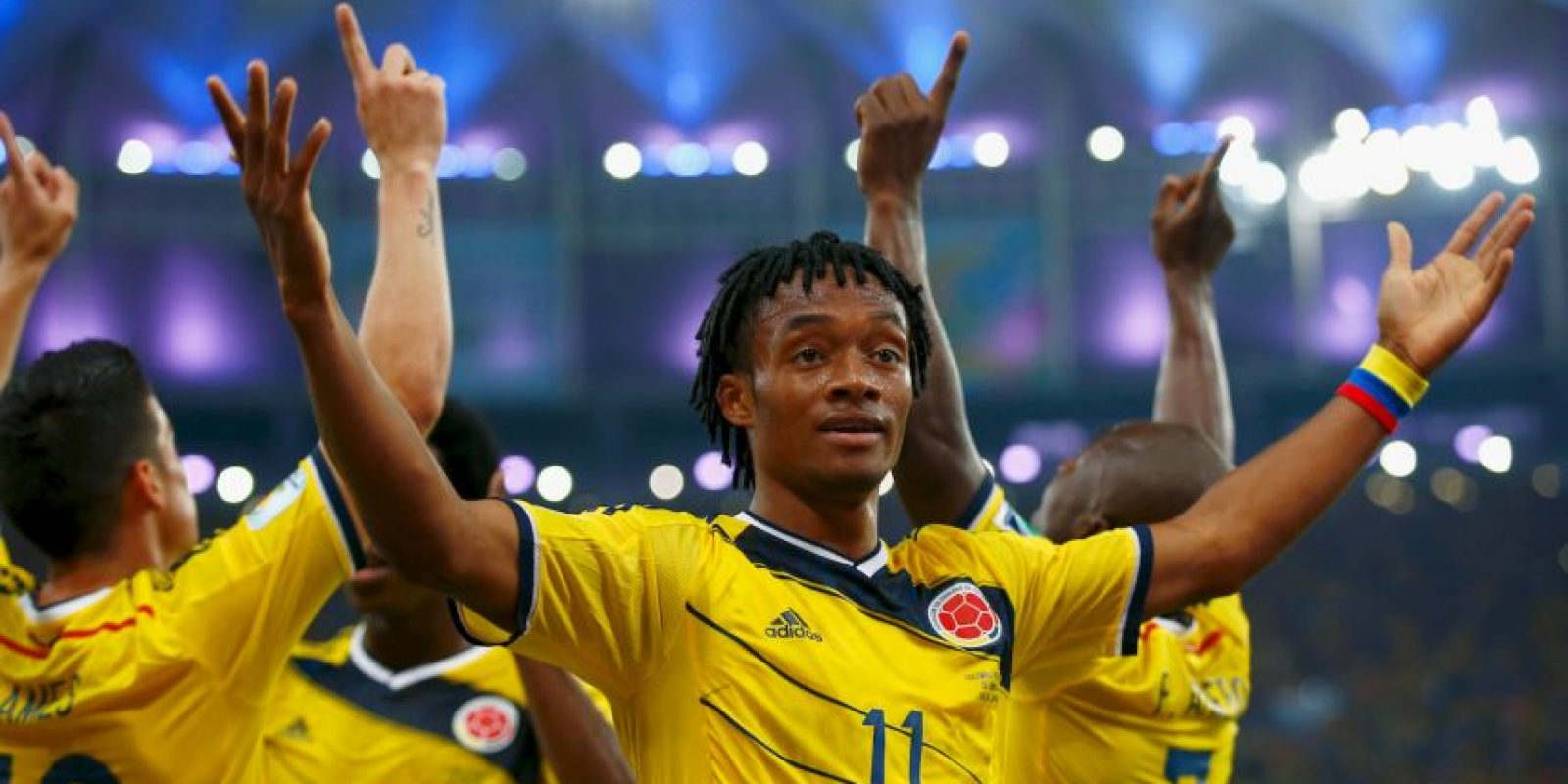 Colombia suma siete puntos Foto: Getty Images