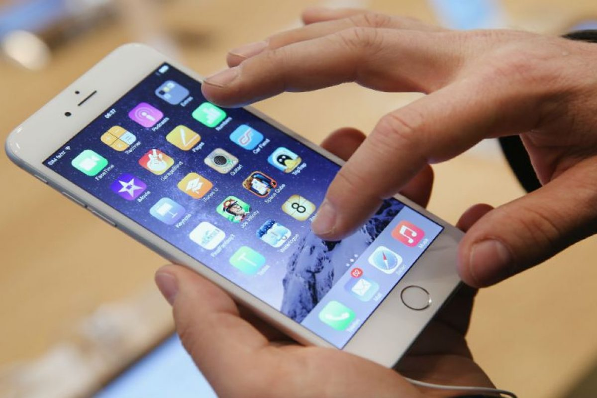 """El error que """"congela"""" los iPhones aún no ha sido solucionado por la compañía. Foto:Getty Images"""