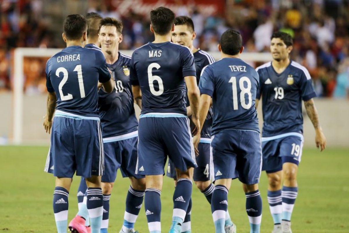 """La """"Albiceleste"""" buscará sumar tres puntos para escalar posiciones en la tabla de la eliminatoria de Conmebol Foto:Getty Images"""