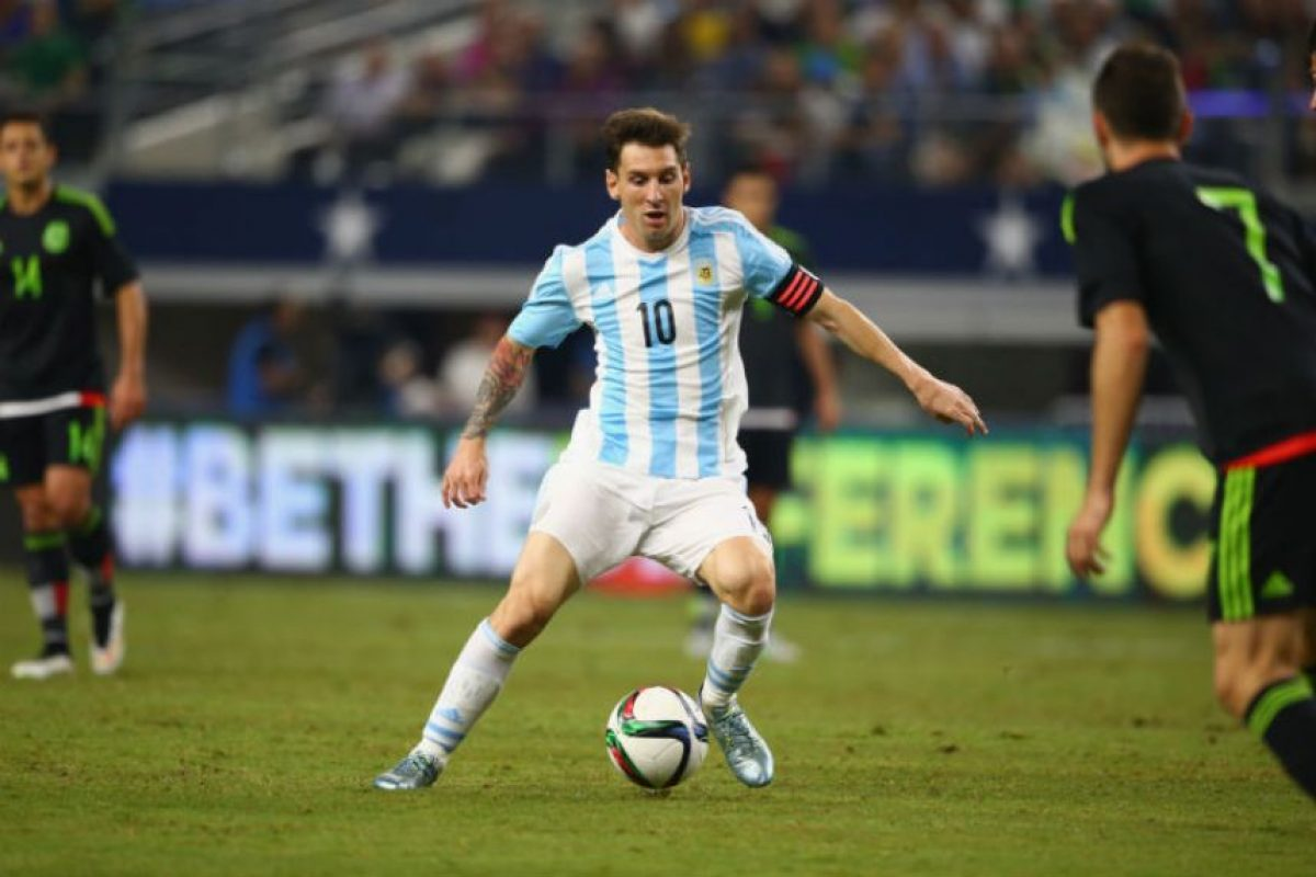 El líder Lionel Messi estará presente en el duelo Foto: Getty Images