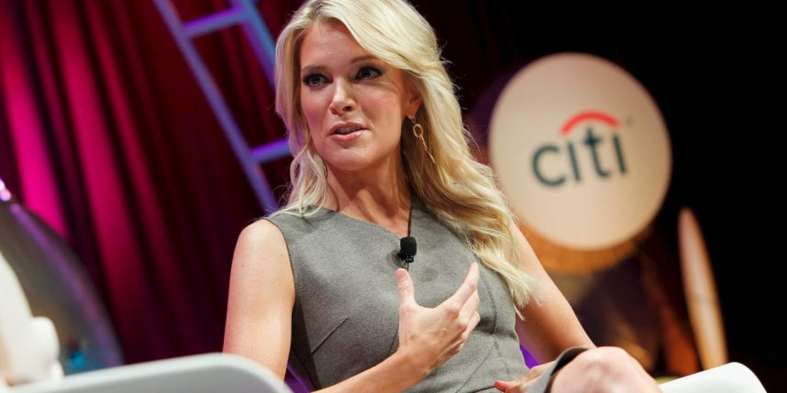 Megyn Kelly, periodista y presentadora de la Cadena Fox News. Foto: Getty Images