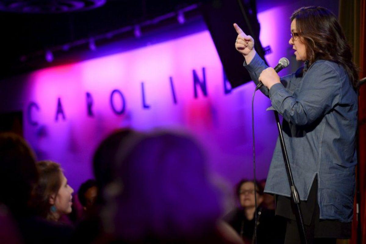 Rosie O'Donnell, comediante y presentadora de televisión. Foto:Getty Images