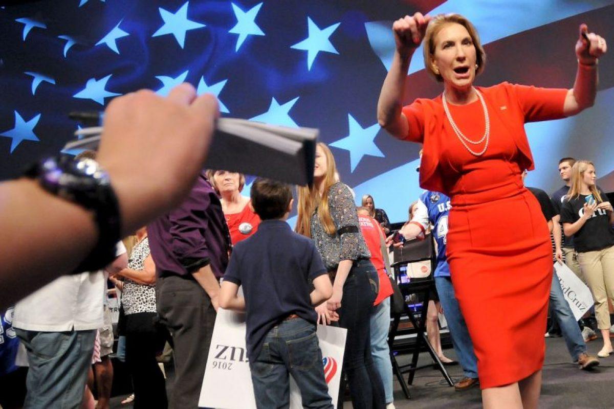 Carly Fiorina, política estadounidense y ex precandidata a la presidencia. Foto:Getty Images