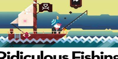 8.- Ridiculous Fishing. Capturen la mayor cantidad de criaturas marinas. Foto:Ridiculous Fishing