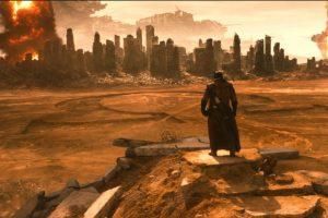 4. Batman tiene un sueño en el que se presenta a Darkseid simbólicamente. Se encuentra en Apokolips, planeta donde este gobierna, clave en la trama del desarrollo de la historia de Superman. Foto:vía DC Cómics/Warner Bros