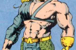 12. La apariencia de Aquaman está inspirada en el del cómic de los 90. Foto:vía DC Cómics