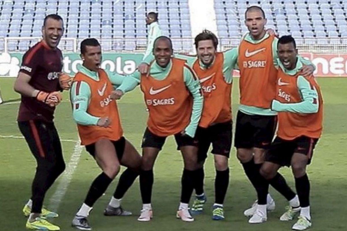 Cristiano Ronaldo las está pasando muy bien en la Fecha FIFA. Foto:Vía instagram.com/Cristiano